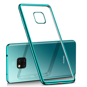 For Huawei Mate 20 Pro Case Cover Luxury Laser Plating TPU Back For Huawei Mate 20 Soft Transparent Silicone Shockproof Coque cover case for huawei mate 10 pro soft carbon fiber luxury tpu