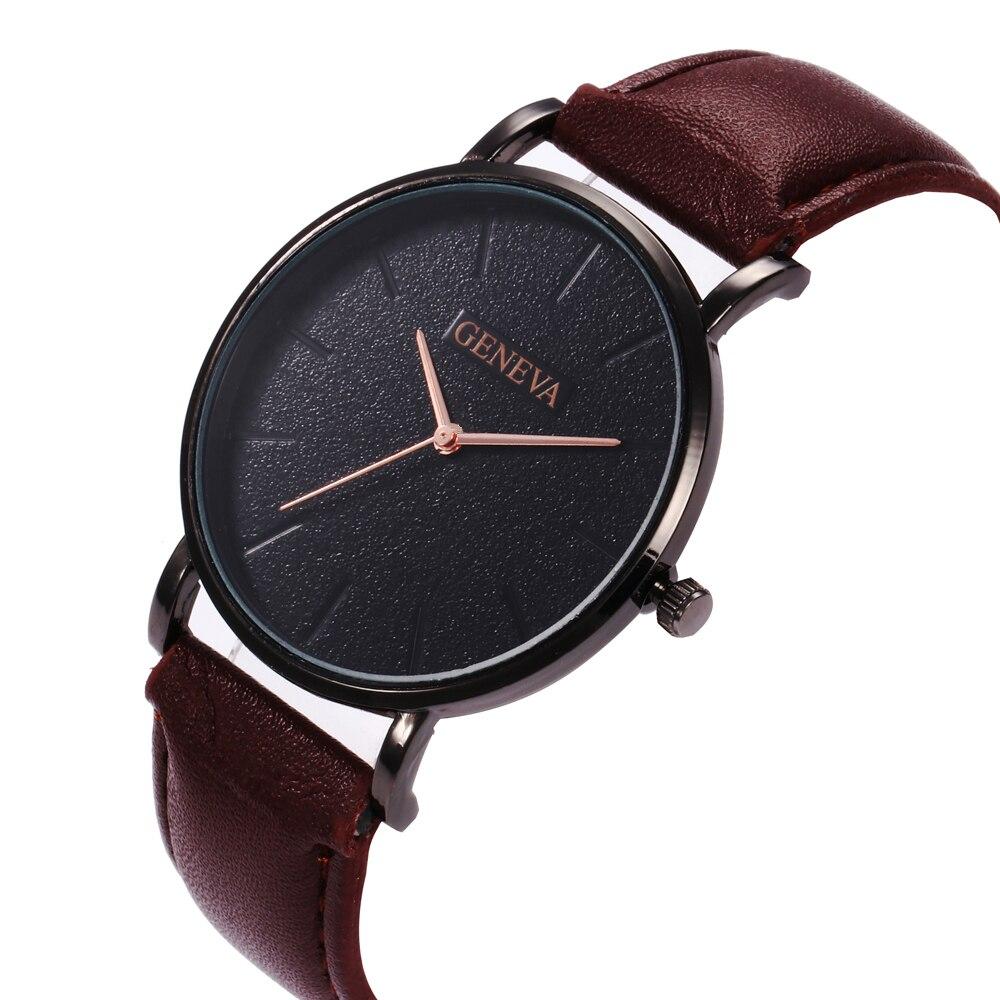 H646518aece0842fc807eed654b9fa3199 Arrival Men's Watches Fashion Decorative Chronograph Clock Men Watch Sport Leather Band Wristwatch Relogio Masculino Reloj