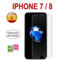 Protector De Pantalla Cristal Templado Vidrio 9H Para Apple Iphone 7 o 8
