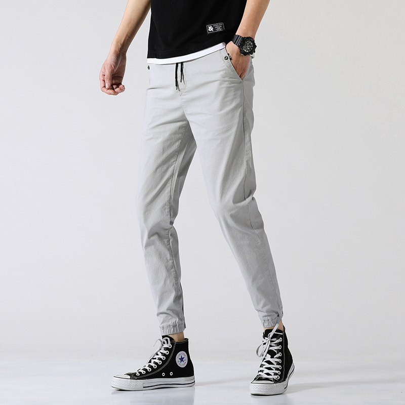Men Casual Rubber Band Bib Overall