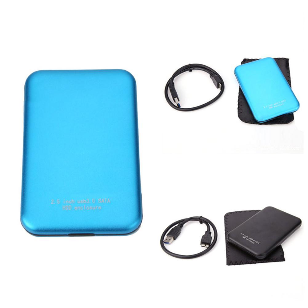 Enclosure-Box Notebook Sata-Hdd-Case Hard-Drive External-Storage Cable Disk SSD Usb-3.0