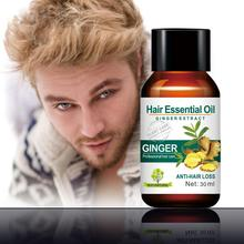 Mokeru 30ml Ginger Oil Natural Anti Hair Loss Products Essential Oil Ha