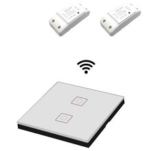 RF Receiver Wireless Smart Remote Control Touch Light Switch RF Transmitter AC220V 5A For Smart Home LED Light On/Off hot sales ac220v mini size rf wireless remote control switch system 4transmitter