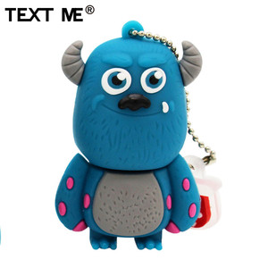 Image 5 - TEXT ME cute cartoon 3 colour Monster University usb flash drive usb 2.0 4GB 8GB 16GB 32GB 64GB pendrive best gift