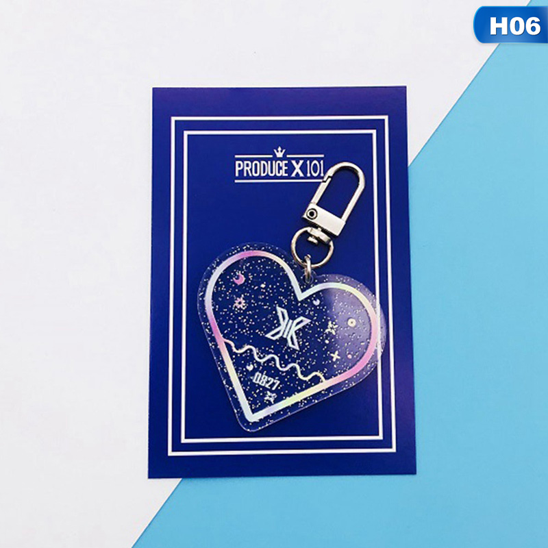 Kpop Heart Shaped Keychains (All groups)