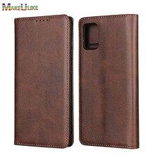 Retro Wallet Case For Samsung A71 A51 A42 A52 A72 5G Case Leather Magnetic Phone Case For Samsung A11 A21 A21S A31 4G Flip Cover