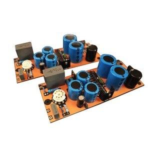 Image 3 - 2Pcs Referentie Duitsland D.Klimo Merlino Circuit 6dj8 Vacuum Tube Pre Fase Ecc88 Hifi Versterker Voorversterker Diy Kit