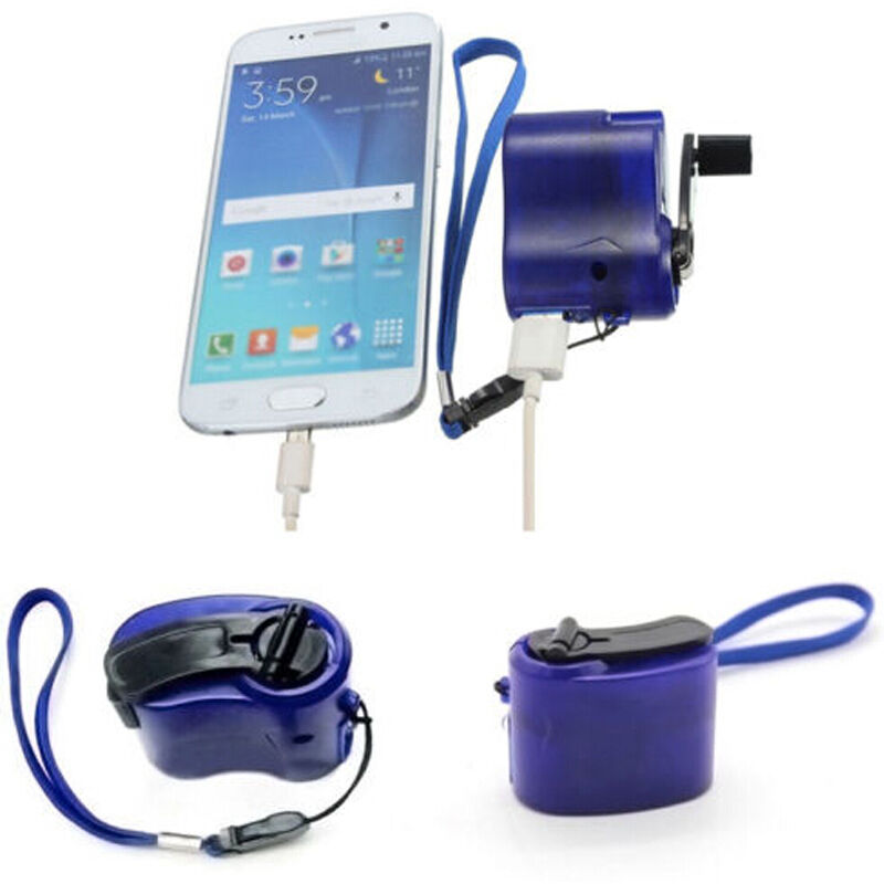 Faroot Universal Outdoor Portable Emergency Hand Power DynamoUSB Charging Charger For All Brand Mobile Phones Digital Devices