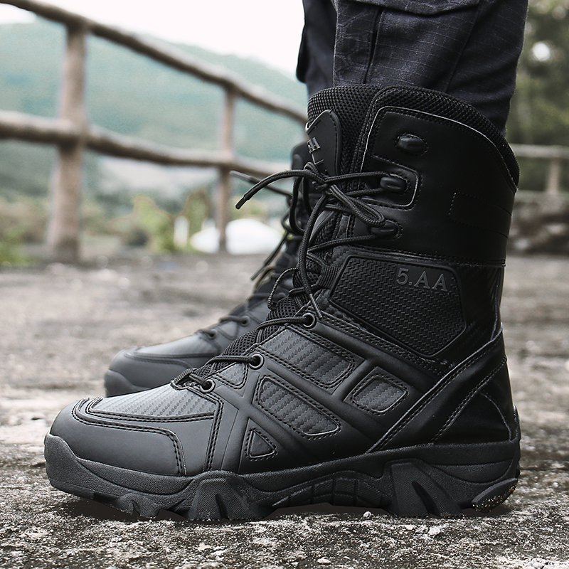 New Us Military Leather Boots for Men Combat <font><b>Bot</b></font> Infantry Tactical Boots <font><b>Askeri</b></font> <font><b>Bot</b></font> Army <font><b>Bots</b></font> Army Shoes <font><b>Erkek</b></font> Ayakkabi 39-47 image