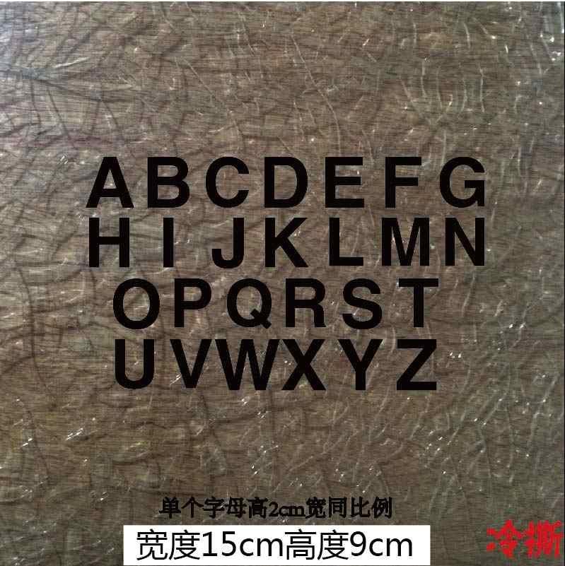 26 Alfabet Letters Ijzer Op Heat Transfers Vinyl Thermische Patches Voor Kleding Camera Bloem Streep Pvc Stickers Op Kleding Diy