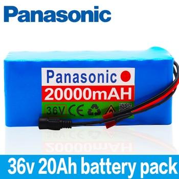 Panasonic New 36V battery 10S4P 20Ah battery 500W high power battery 42V 20000mAh Ebike electric bicycle BMS
