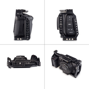 Image 5 - MAGICRIG  Portable Camera Cage  With NATO Handle Grip + T5 SSD Card Mount Clamp for Blackmagic Pocket Cinema Camera BMPCC 4K&6K