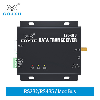 433MHz ModBus RS232 RS485 Digital Long Distance 1km LNA  COJXU E90-DTU(433C17) 17dBm FEC High Speed Continuous Transmission  IOT e90 dtu 433c37 half duplex high speed continuous transmission modbus rs232 rs485 433mhz 5w iot uhf wireless transceiver module