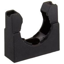 10 шт. пластиковый Монтажный кронштейн черного цвета для 25 мм гофрированных труб