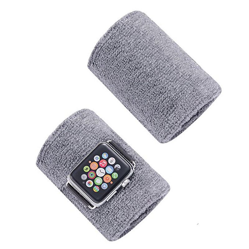 For Apple Watch Bracer 1234 Generation IWatch 4-3 S Athletic Wristguards Outdoor Sweat Absorbing Breathable Wrist