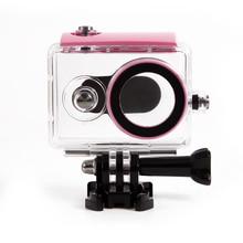 Orsda nurkowanie podwodne wodoodporna obudowa do aparatu sportowego Xiaomi Yi 1 wodoodporna skrzynka ochronna do aparatu fotograficznego Xiaomi yi 1