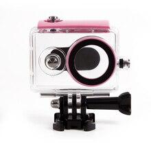 Orsda sualtı dalış su geçirmez kılıf için Xiaomi Yi 1 spor kamera su geçirmez koruyucu kutu Xiaomi yi 1 eylem kamera
