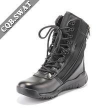 CQB. Спецназ; Сверхмощный светильник; спецназ; адельман; военные ботинки; амортизация; высокие уличные тактические ботинки; военные ботинки