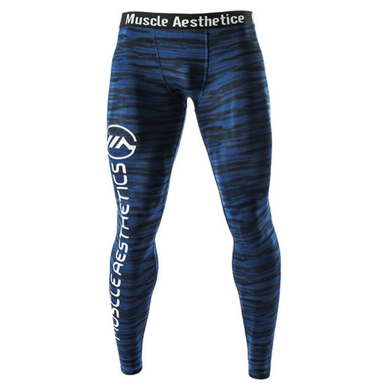 Men Running Compression Tights Pants Male Gym FitnessTraining Jogging Pants Quick Dry Trousers Sportswear Trousers YogaLeggings