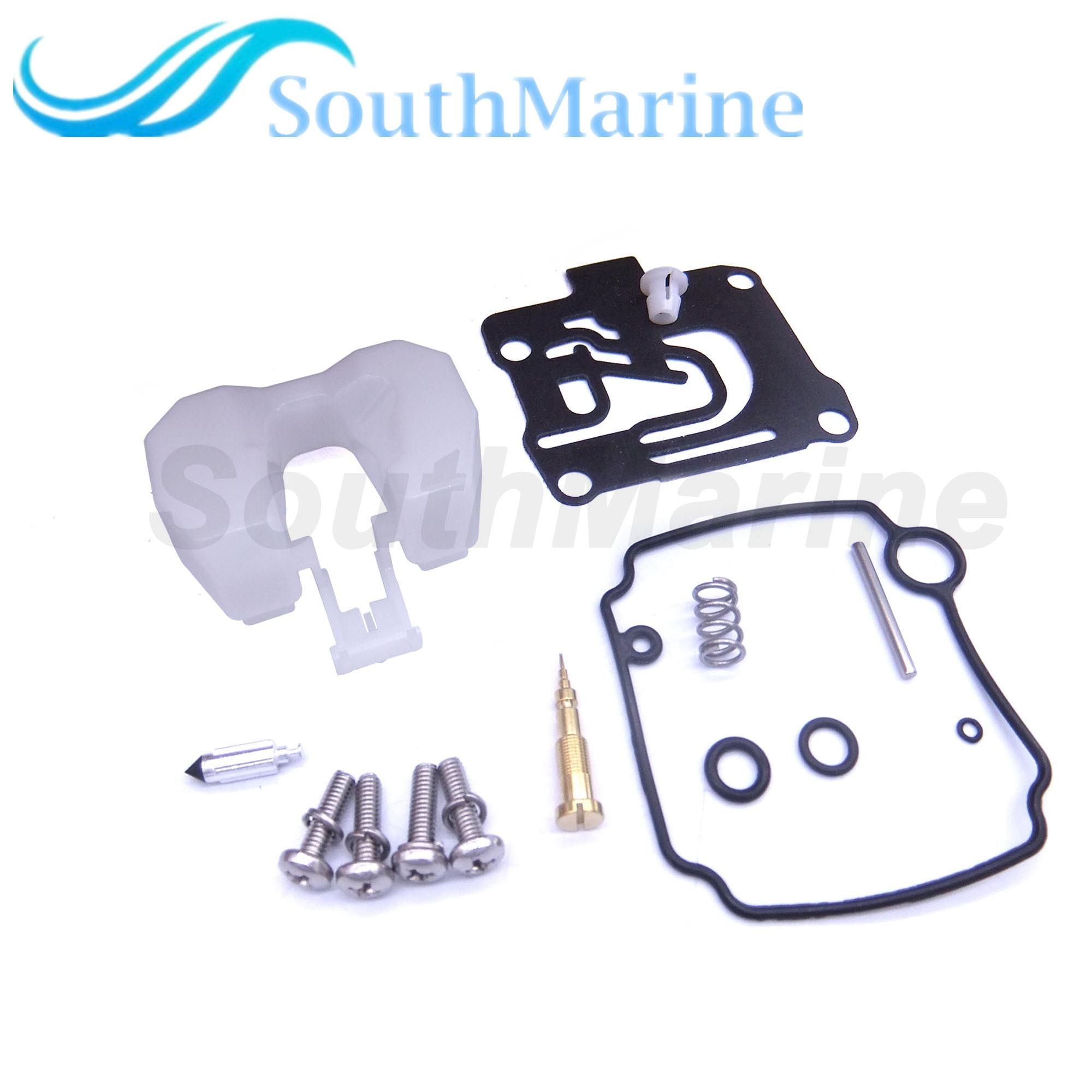 Boat Motor 62Y-W0093-10 62Y-W0093-11 Carburetor Repair Kit For Yamaha Outboard Engine 50HP T50 F50