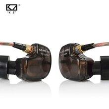 Kz Aten 1DD Koperen Driver Hifi Sport Oordopjes In Ear Oortelefoon Voor Running Met Microfoon Geluid Voor Gratis Verzending