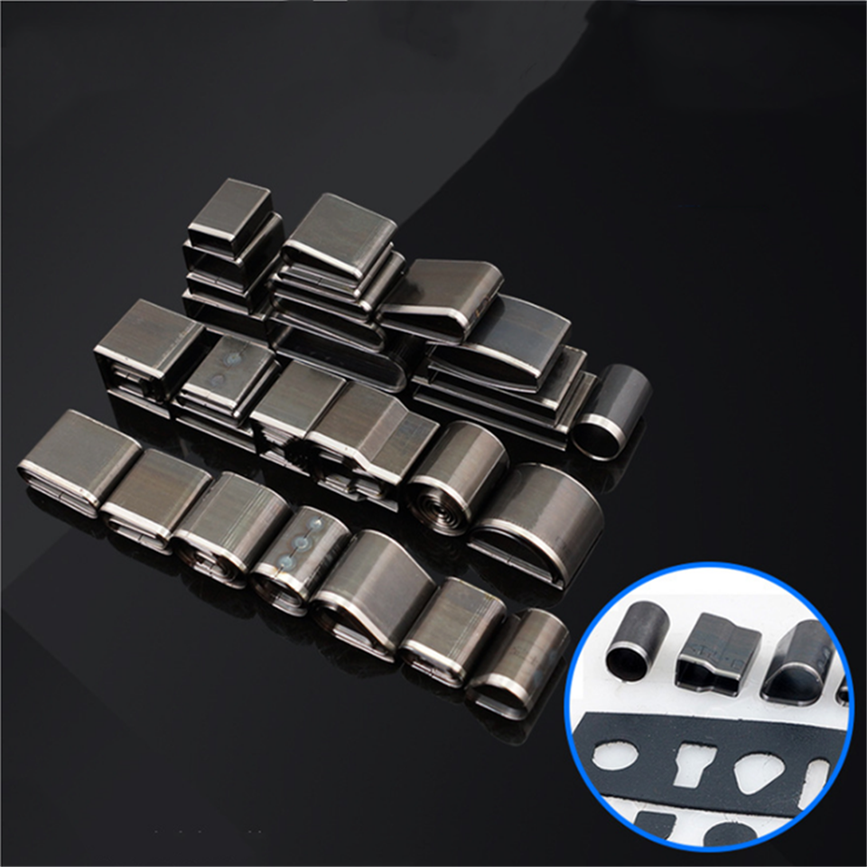 24/39/52Pcs Shaped Style Hole Hollow Punch Cutter Set Punching Tool For Leather Belt Phone Holster Leather Craft DIY Tool