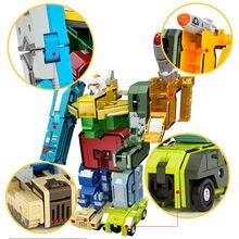 Цифры трансформирующая игрушка робот для детей детская игра