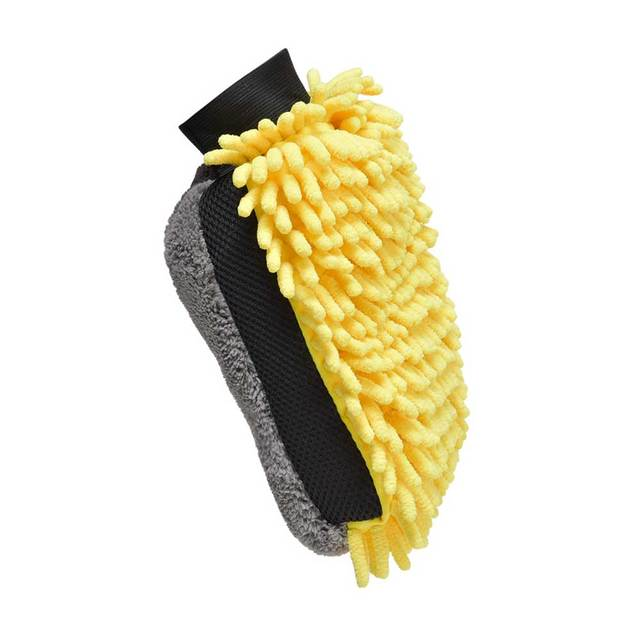 Soft Multifunction Mircofiber Car Wash Glove Car Wax detailing Polishing Towel Thick Cleaning Wash Brush Car  Drying  Gloves 1