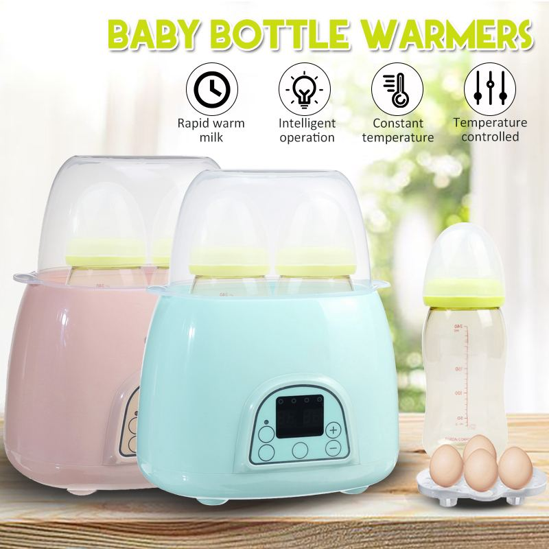 2 In 1 Automatic Warm Milk Sterilizer Baby Bottle Disinfection Multi-function Intelligent Thermostat Baby Bottle Warmers