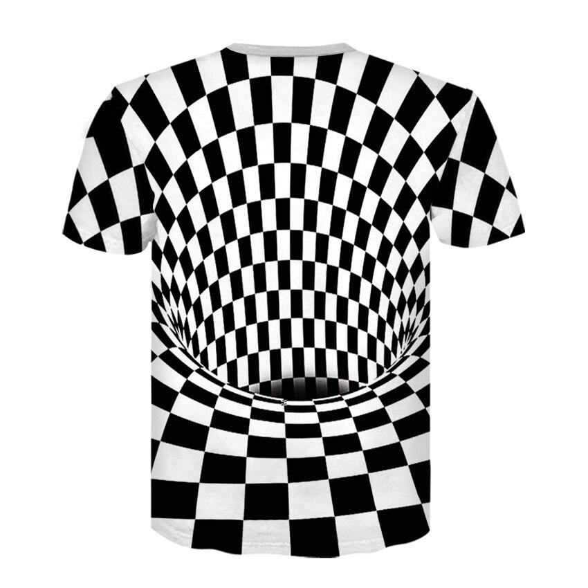 D-258-T恤短袖模板-后