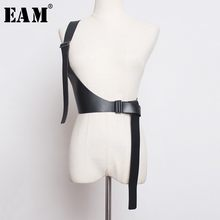 EAM – ceinture lanière en cuir Pu, nouveauté printemps été 2021, asymétrique, va avec tout, à la mode, JX697