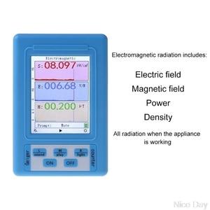 Electromagnetic Radiation Detector EMF Meter Radiation Dosimeter Monitor Tester BR-9A N25 19 Dropship