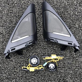Car door tweeters For BMW F34 3GT series high quality Hi-Fi treble speaker audio trumpet horn stickers trim replacement original original car side door tweeters for f34 bmw 3gt audio trumpet head door treble speakers abs material original quality