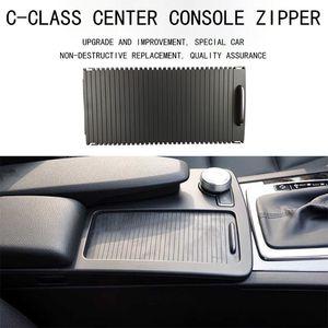 Image 5 - Wyin wy capa de copo para console, suporte de copo para console, persianas de rolo classe c e de armazenamento de zíper guarnição de caixa para w204 c180 c200