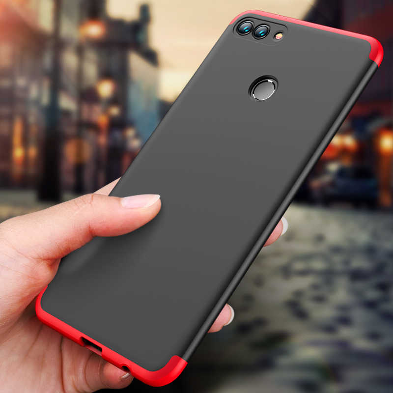 GKK Full Protective Phone Case For Huawei Y7 Prime 2019 Y9 Y6 Pro 2018 P9 GR3 GR5 2017 V9 P10 Plus Note10 Mate 10lite Slim Cover