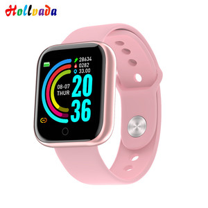 VS B57 B58 Smart Watch Y68 Fitness Bracelet activity tracker heart rate monitor blood pressure Bluetooth watch for ios Android(China)