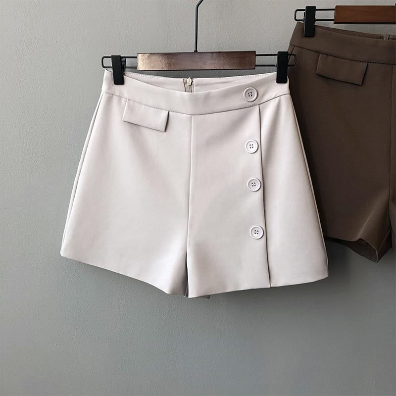 2020 New Stylr Fashion Shorts Women Sexy Biker Shorts  Gray Fitness Korean Casual Sexy Short Cotton