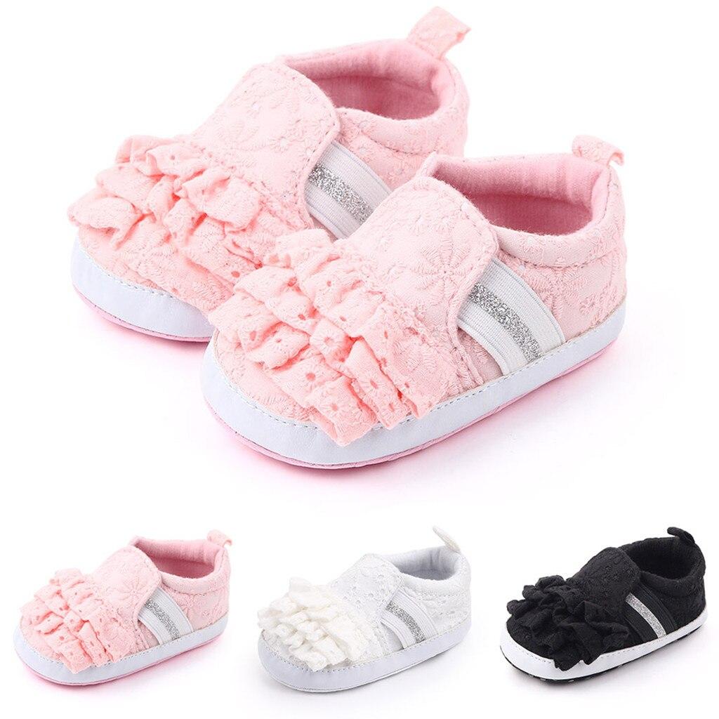 Baby Boots Pleated Print Infant Newborn Girls Boys Shoes First Walker Shoe Booties Zapatos De Niño Детская повседневная обувь#D5