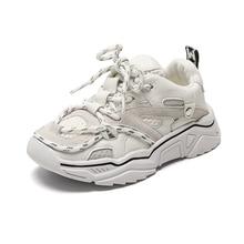 Scarpe per bambini 2020 New Toddler Boys Girls scarpe sportive lacci riflettenti traspiranti Tennis allaperto moda Sneakers per bambini