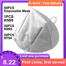 Kn95 mask Disposable Mask Mouth Face Mask KN95/KF94 95% Filtration Cotton Mouth Masks Anti-Dust 3 Filter against Droplet