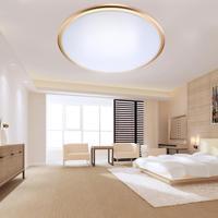 Alto brilho branco fresco 30 w 40 w led luzes de teto diâmetro 270mm alumínio + acrílico lâmpada led para sala estar quarto