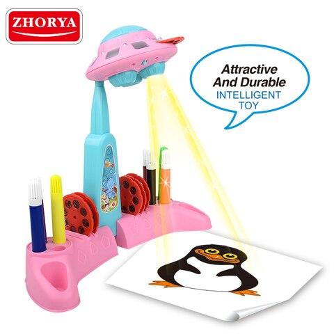 zhorya desenho projetor brinquedos para criancas ufo