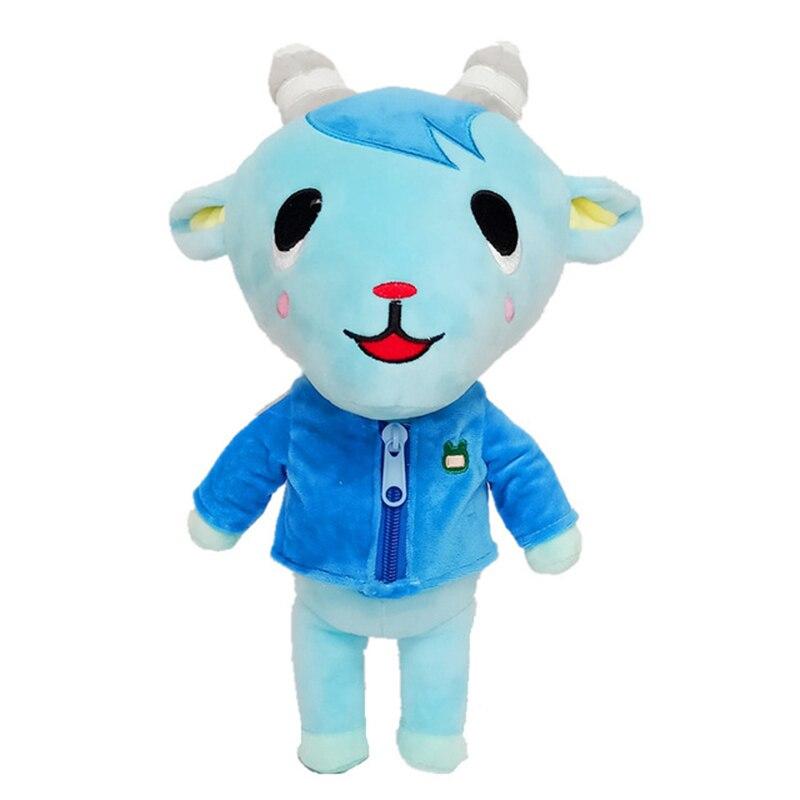 1pcs 30cm Animal Crossing Sherb Plush Toys Doll Cartoon Sherb Animal Crossing Soft Stuffed Toys for Kids Children Gifts