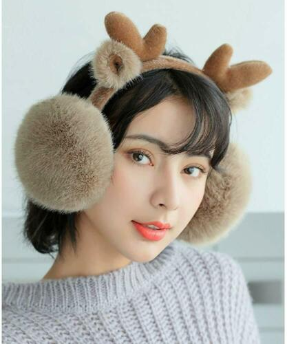 Luxury Women Winter Warm Earmuffs Thick Plush Fluffy Ear Muffs Earlap Warmer New