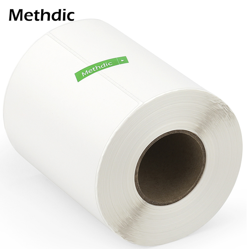 Methdic4'x6' 20rolls/box Custom Waterproof Direct Thermal Label