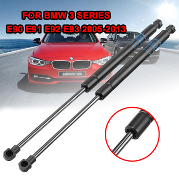 1Pair Car Front Bonnet Hood Lift Gas Shock Struts Bar Replacement For BMW 3 Series E90 E91 E92 E93 2005-2013 Car Support Rob image