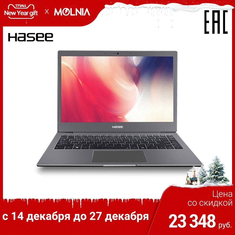 Ultra-thin Notebook Hasee X3 13,3 Inch IPS Intel Dual Core 3865U/8 GB/256 GB SSD /NoODD/DOS/72%/NTSC
