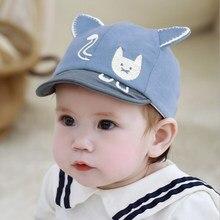 Cute Baby Boy Girl Autumn Winter Outdoor Hats Cotton Warm Breathable Kid Caps Cartoon Print Lovely Hat
