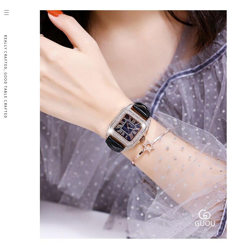 elegante senhoras relógios novo relógio de ouro