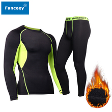 Fanceey Winter Thermal Underwear Men Keep Warm Long Johns Me